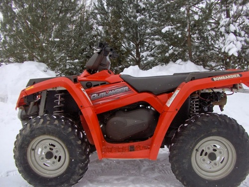 Product picture Can-Am BRP 2004 Outlander 330 400 2x4 4x4 ATV Service Manual