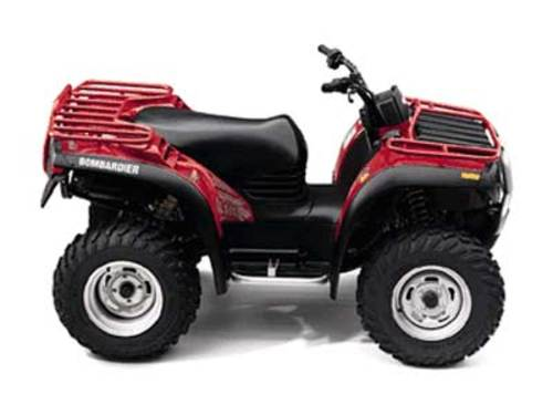Product picture Can-Am BRP 1999 2000 Traxter 500 650 ATV Service Manual
